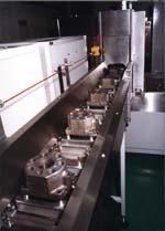 Конвейерная мойка оборудование тяговые органы элеваторов